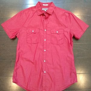 Express | Short Sleeve Button Down Shirt